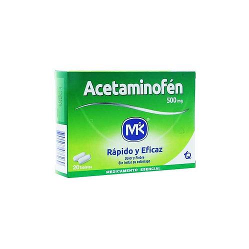 Acetaminofen MK