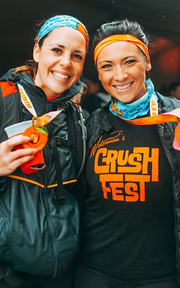 Women at Crush N' Run