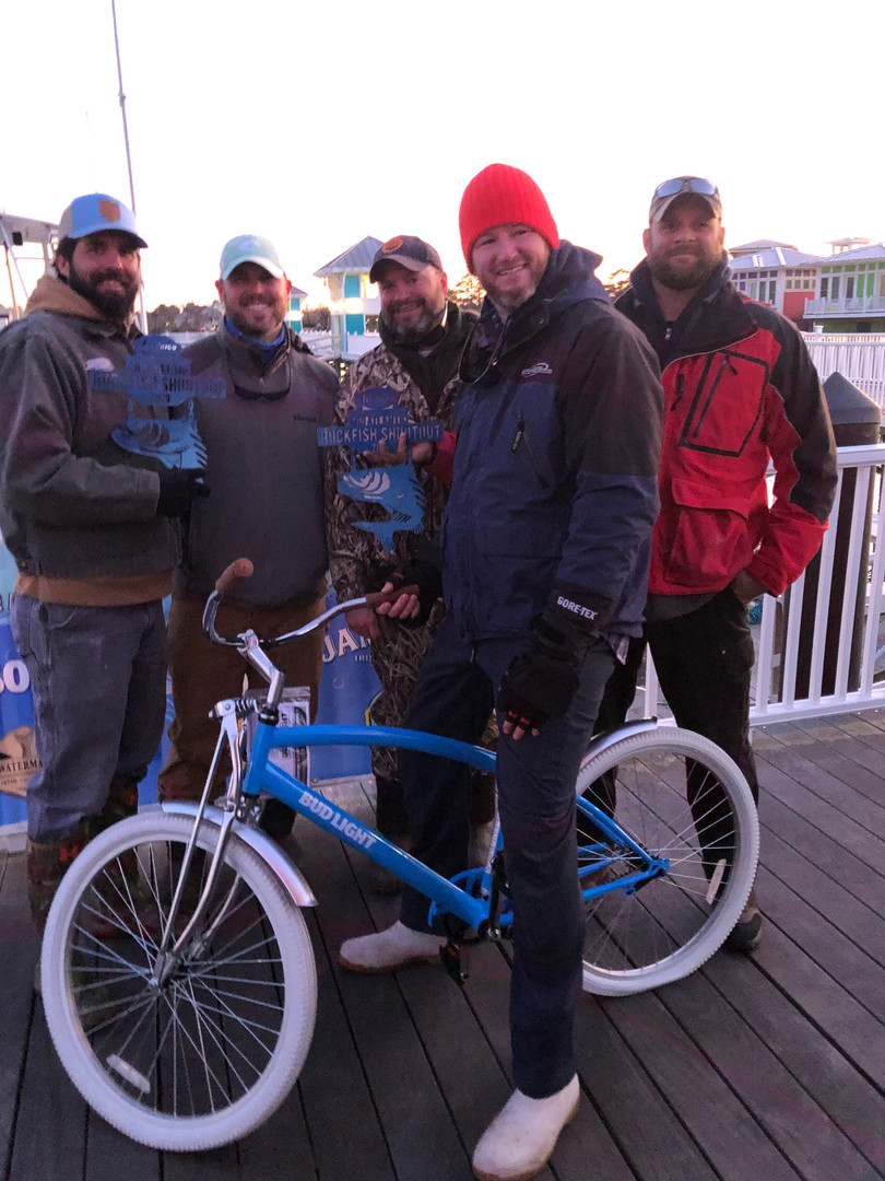 Bud Light sent the winners home with a new bike too!