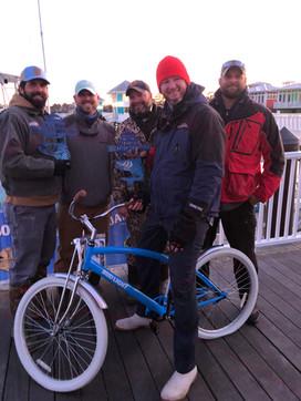 Bud Light sent the winners home with a new bike too!