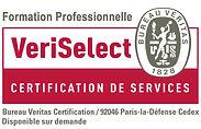 VeriSelect Certificatio de services