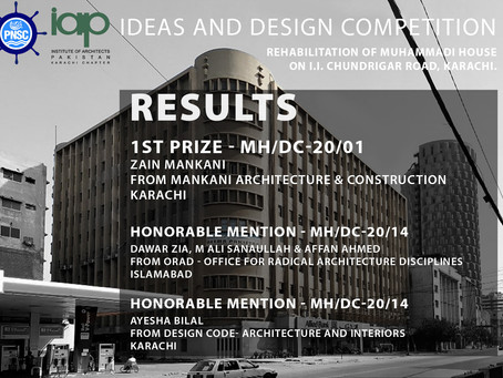 "ORAD has received Honorable Mention in ""Idea and design Competition"" conducted by IAP, Karachi."