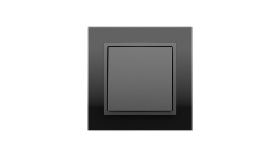 Чёрное стекло/Серый