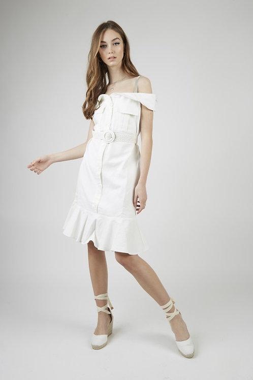 Capri dress white