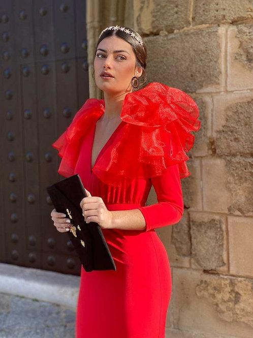 Mariposa red dress