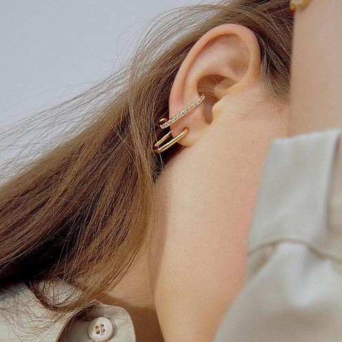 Embellished  Hooked earrings