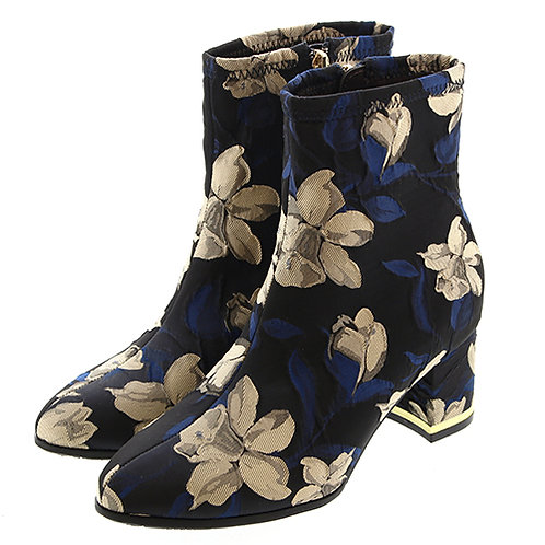 copy of Floral design short boots