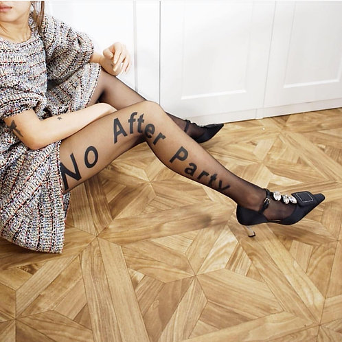 No after party stretch leggings