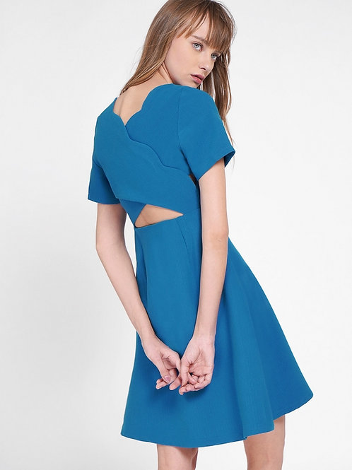 Cut out A-line dress