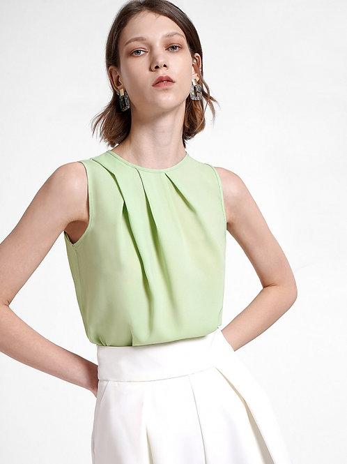 Pale green short sleeve Top