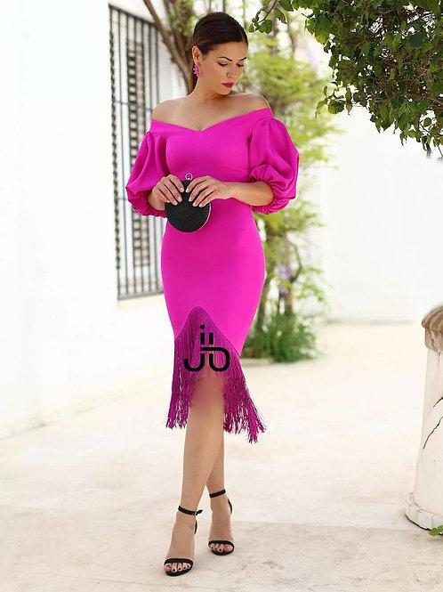 Sarah frills dress