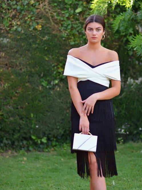 Summer fringe dress