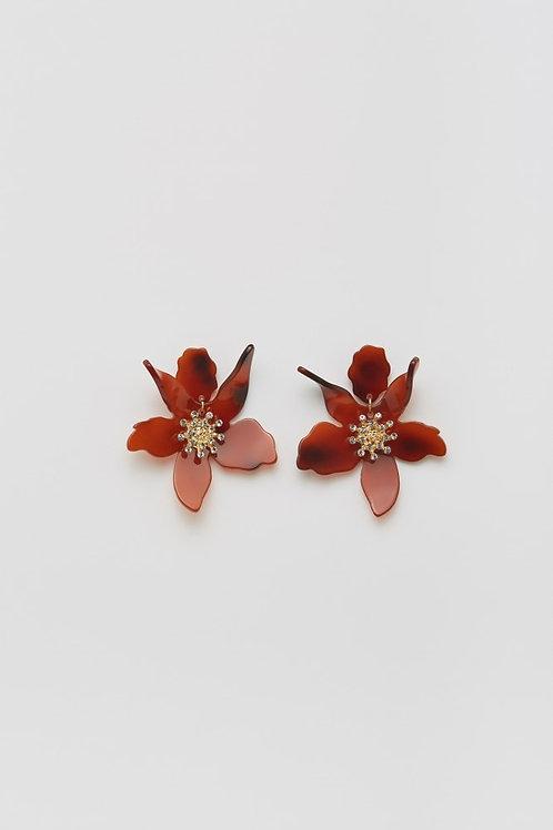 Flower of love earrings