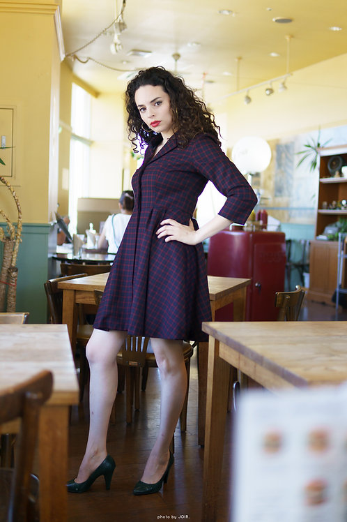 Monroe retro Blazer dress
