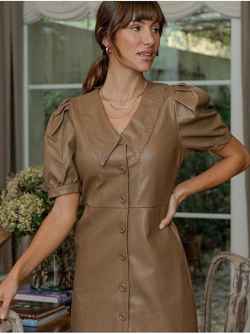 Vanessa semi leather dress