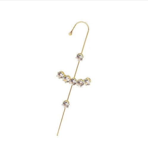 Single hooked earring