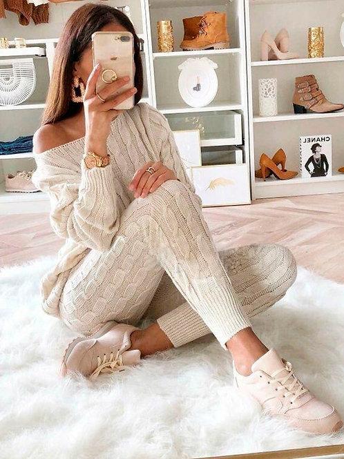 Maya Knitted Jersey Set