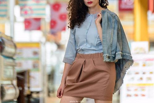 Tokyo outdoor shirt dress | one size.