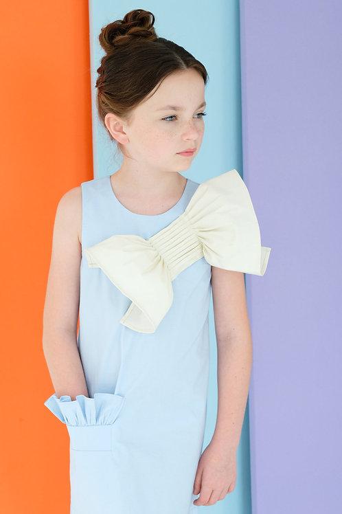 Big Ribbon girls Dress