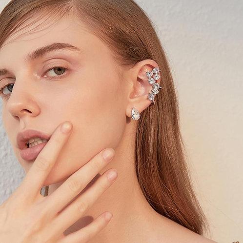 Climbing iceberg earrings