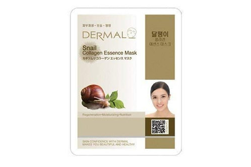 10 Snail face mask