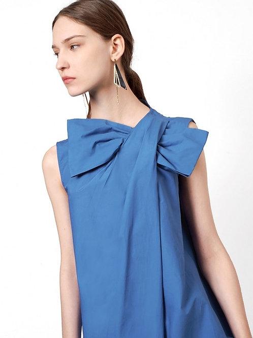 Gizia big ribbon dress