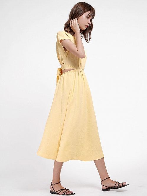 Timeless modern open back Dress