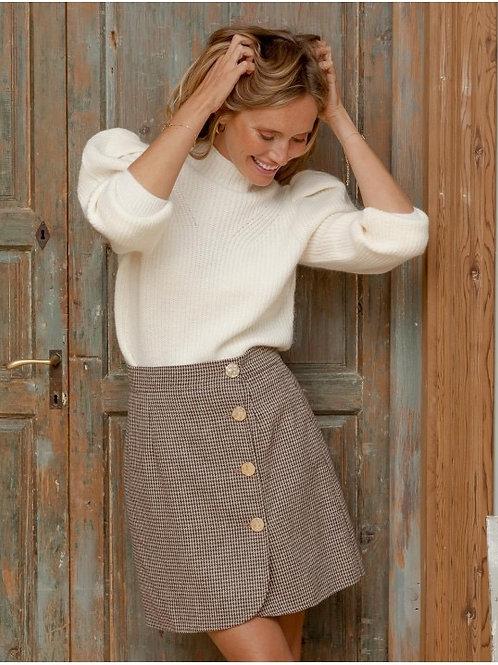Venice buttoned skirt