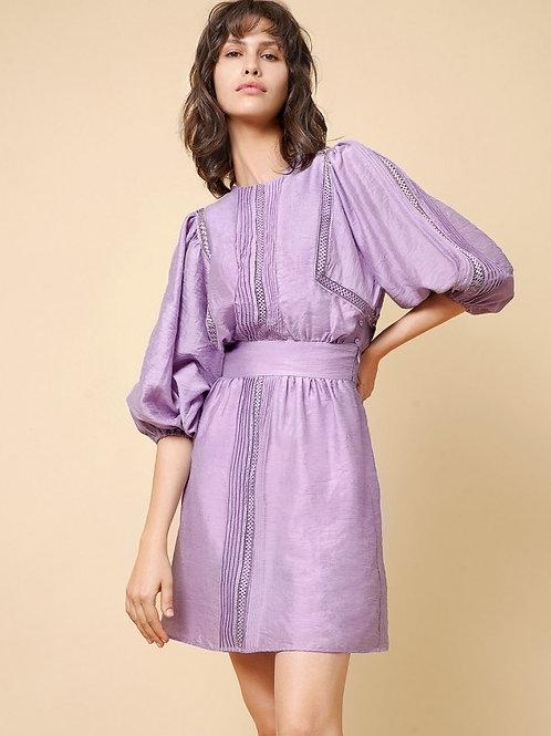 Victoria dress purple /black