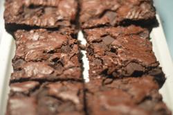 Dble choc brownies