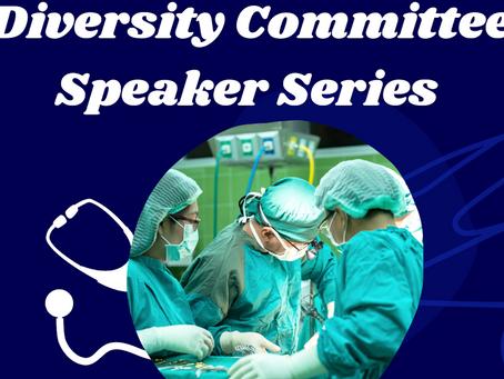 Diversity Committee Speaker Series 5 Panel Needed