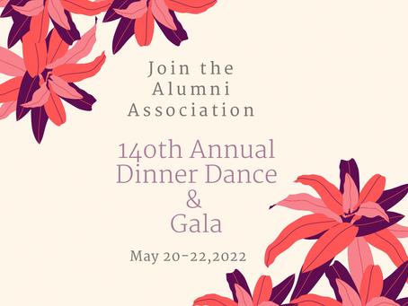 140th Annual Dinner Dance & Gala Registration Open!