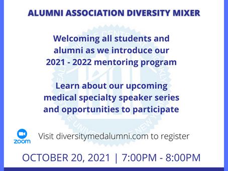 RSVP Today: Alumni Association Diversity Mixer
