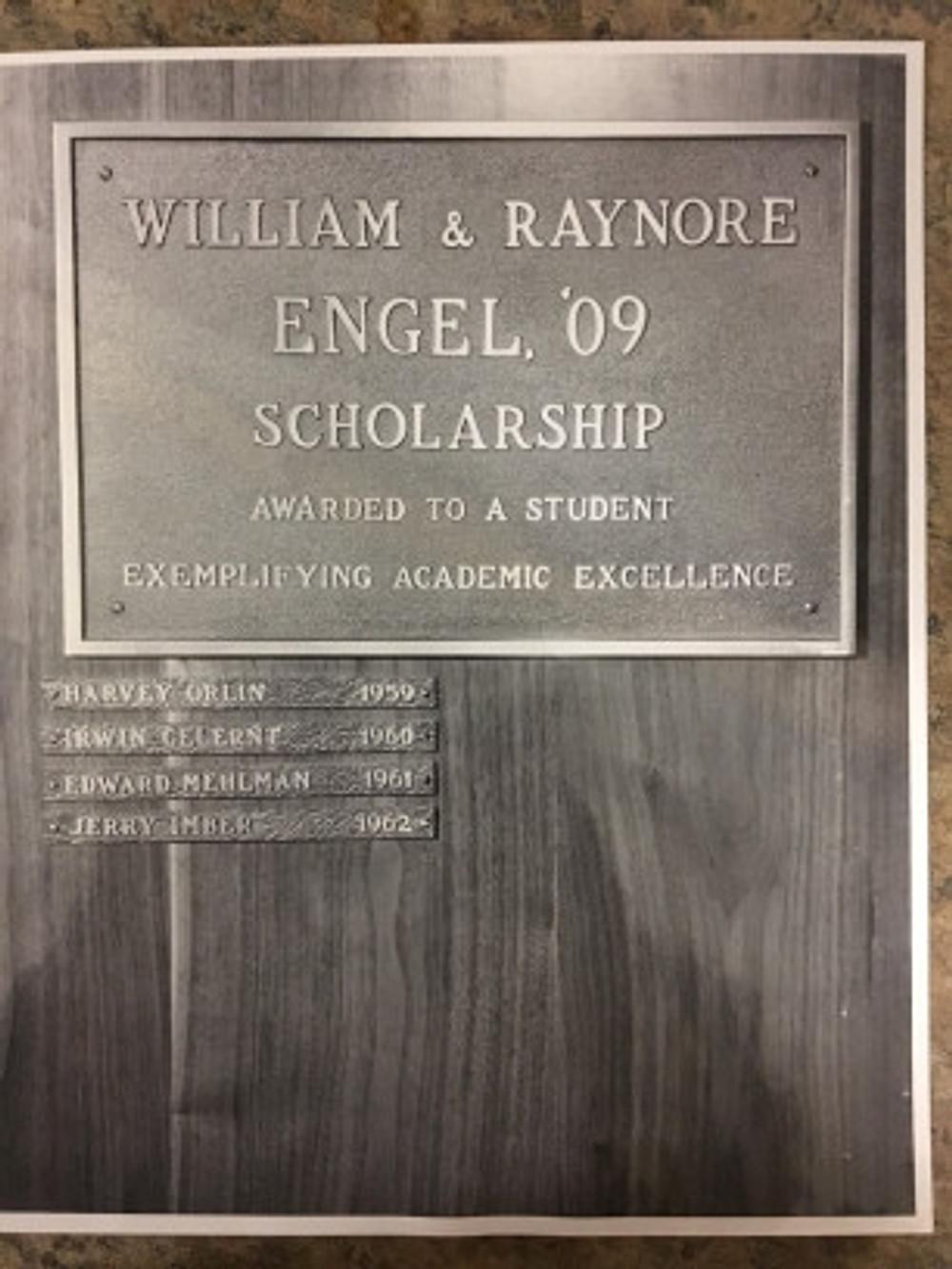 Engel scholars