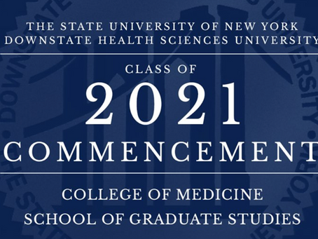 College of Medicine Commencement 2021!