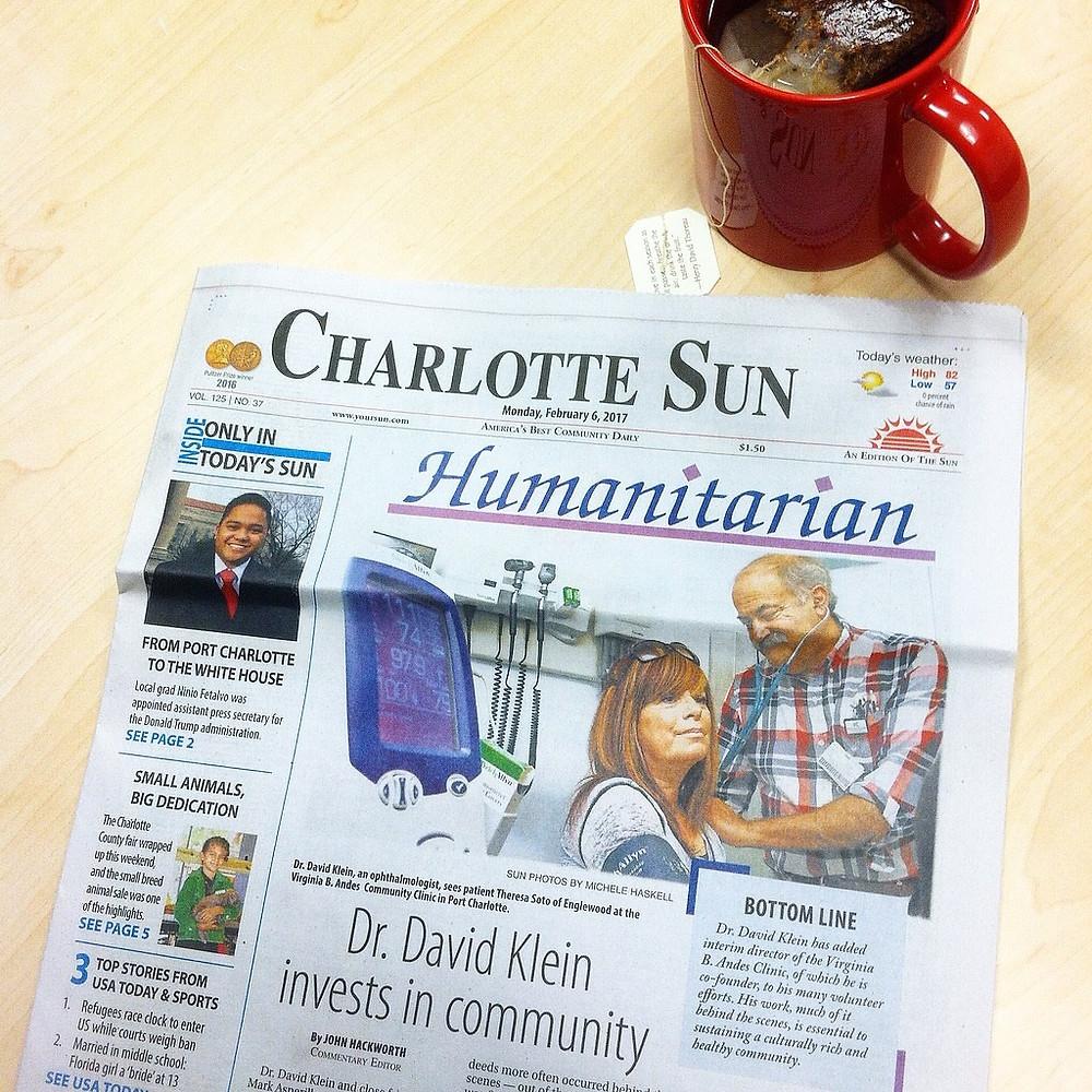 dr-klein-newspaper