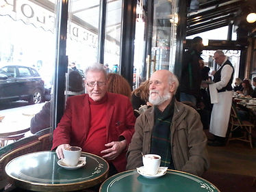 6. Les Deux Magots aux Café de Flore - P