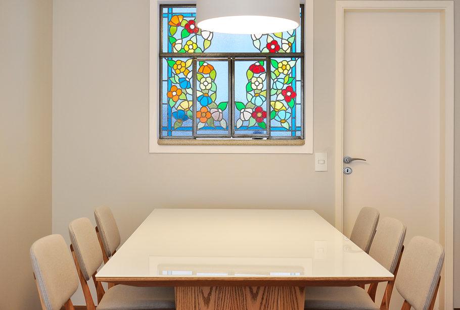 projeto sala de jantar apartamento