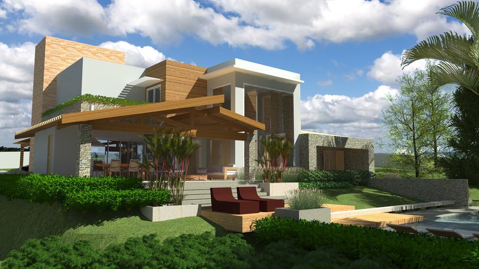 fachada residencial