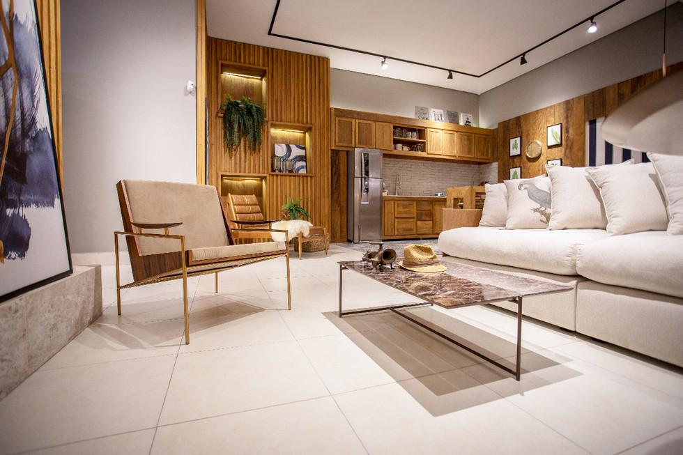 projeto sala moderna