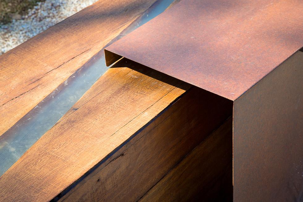 projeto banco madeira rústica