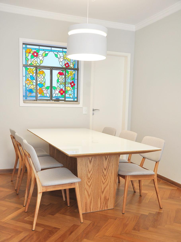 decoração sala de jantar apartamento