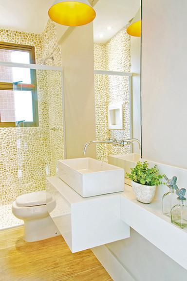 decoração lavabo