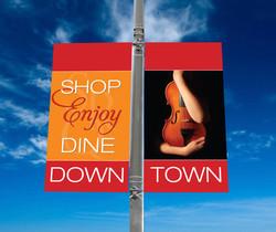 Downtown Sarasota Street Banners