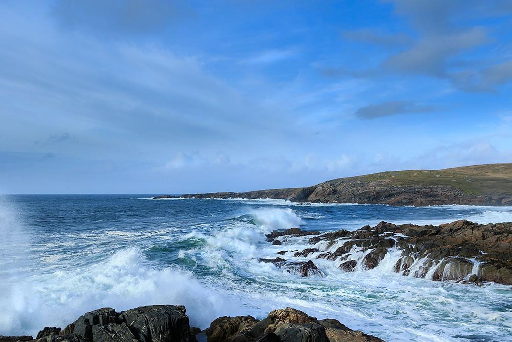Bay Scolpaig, Outer Hebrides, Scotland