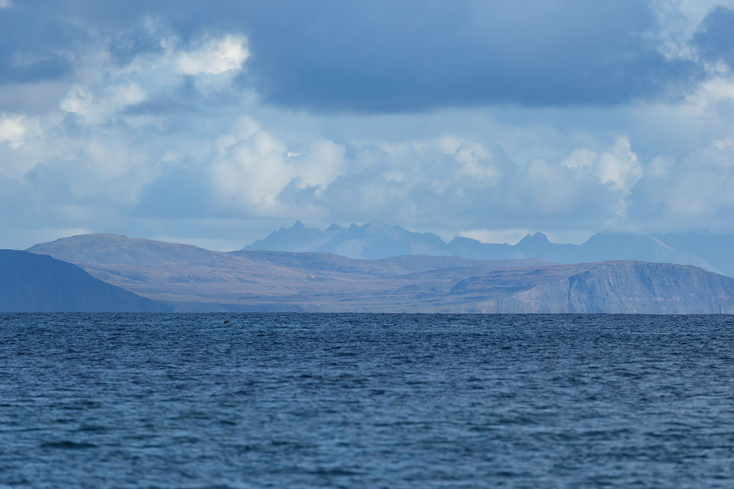 View of Skye from the boat