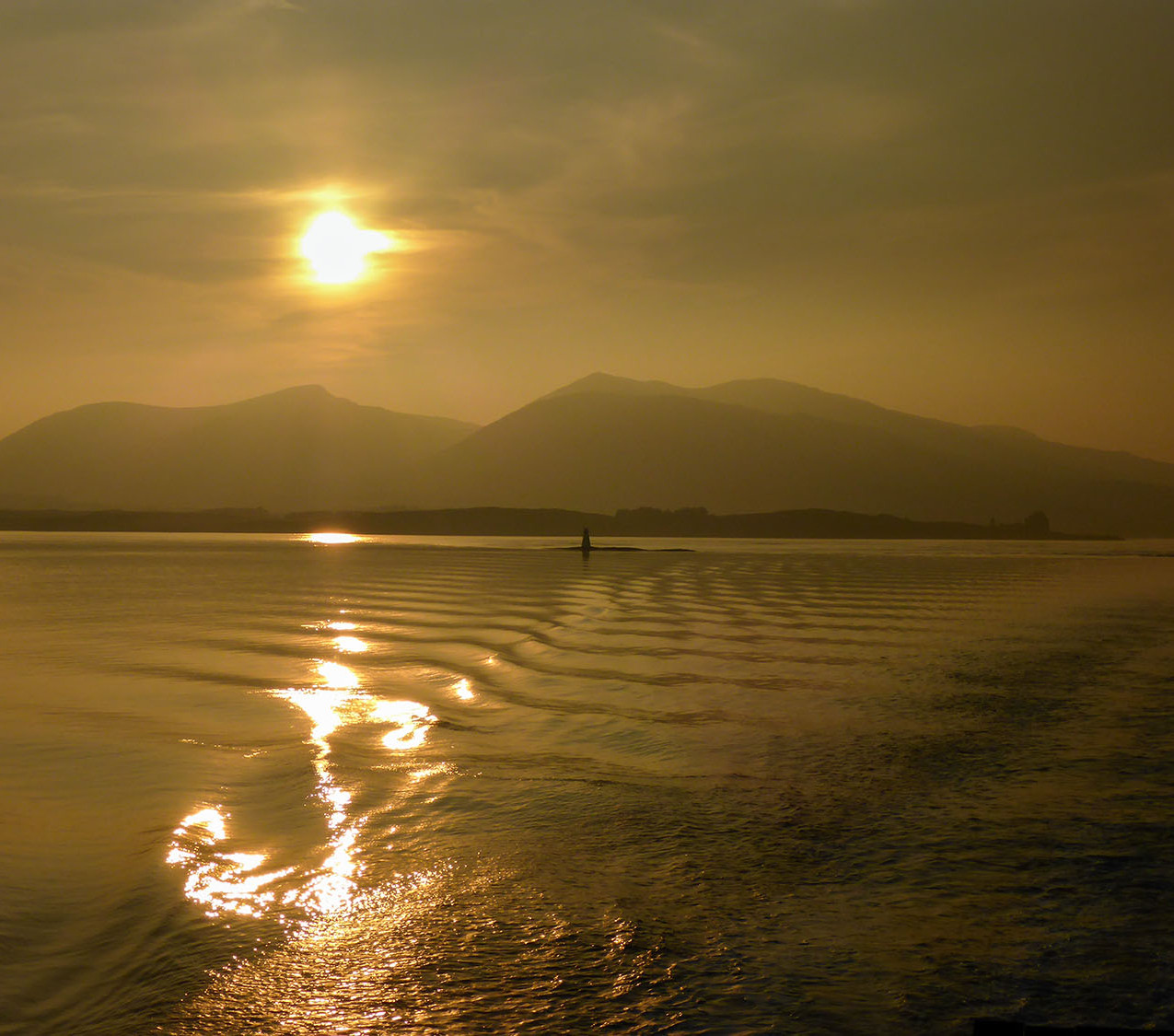 Sunset over Ardnamurchan
