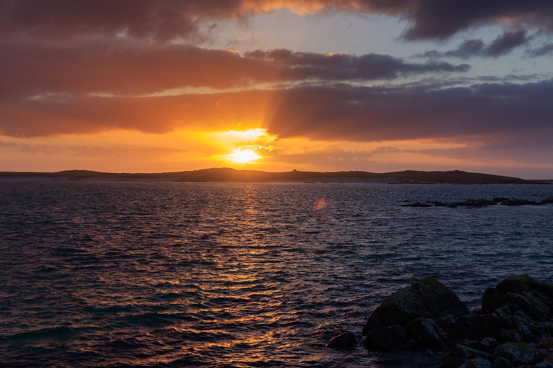 Sunset in North Uist