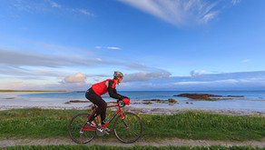 Cycling in North Uist