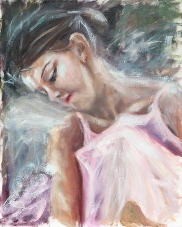Portrait of a ballet dancer